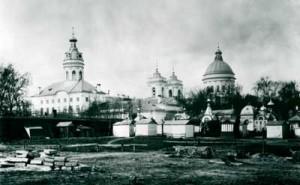 Александро-Невская Лавра (фото К.К. Буллы, 1913 г.)